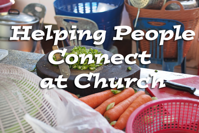 helping people connect at church